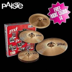 Paiste PST5 Rock Set + Mini...